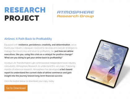 Research in to the Path to Profitability for Ancillaries – What's next?